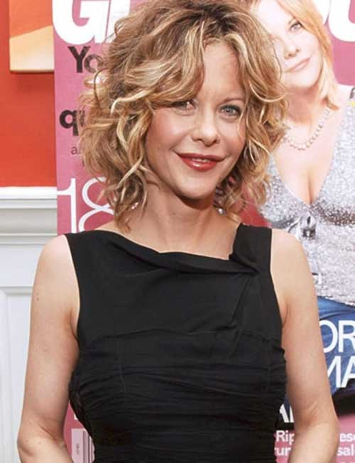 Curly Blonde Bobs Hairstyles 2018