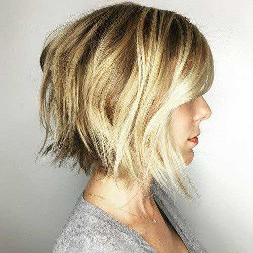 Short Choppy Bob-15