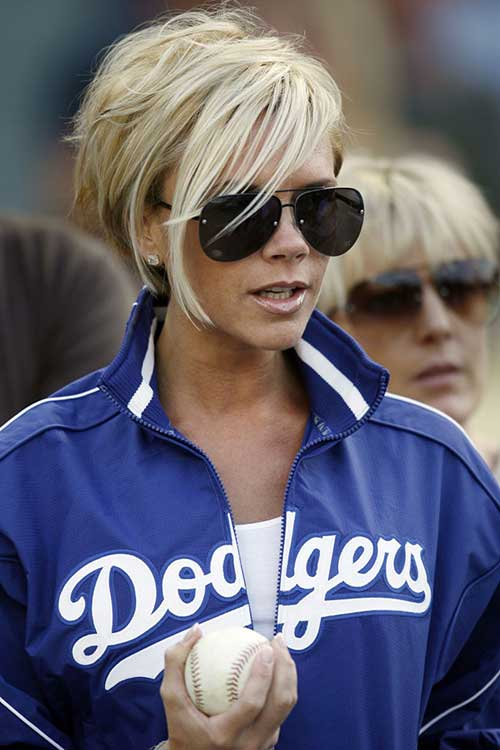 Victoria Beckham Blonde Bob Ideas