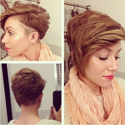 Trendy Short Haircuts with Thick Hair - Spring Hairstyles 2018 for Women