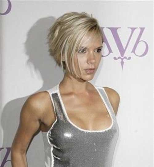 Victoria Beckham Short Blonde Hair-14