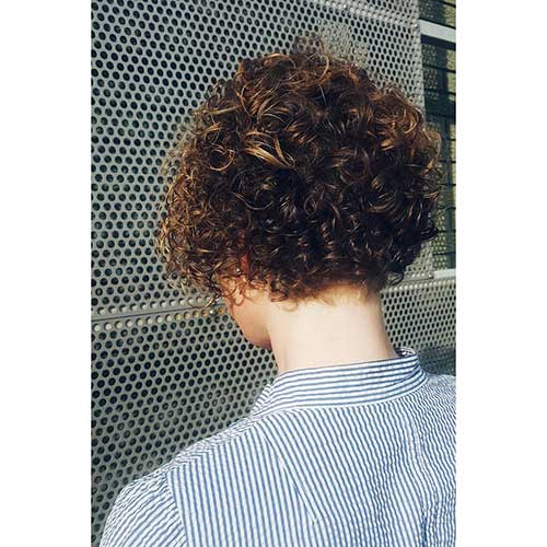 Short Natural Curly Hairstyles - 7