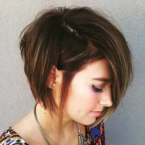 Brown Short Hair Colors-13