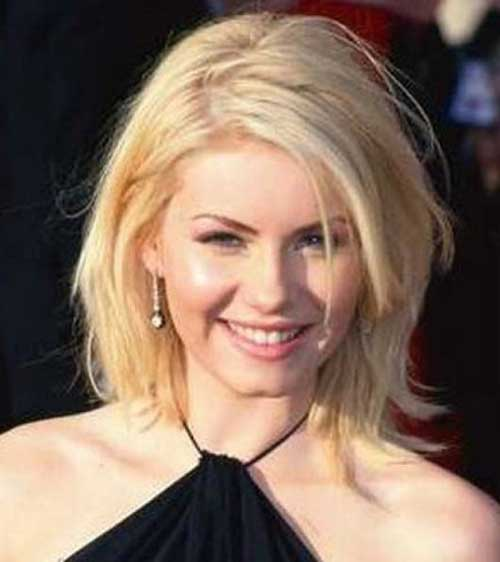 Medium Length Blonde Bob Hairstyles for Fine Hair