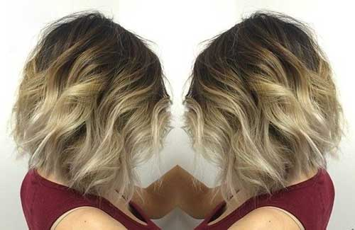 Short Bob Haircut Ideas Ombre
