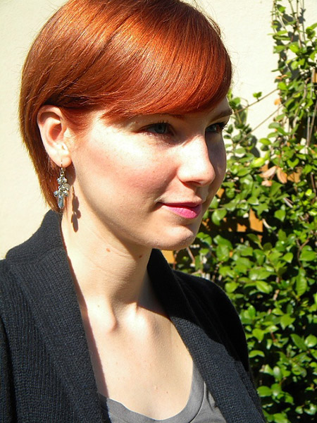 Cool and Exciting Copper Red Bob Cut