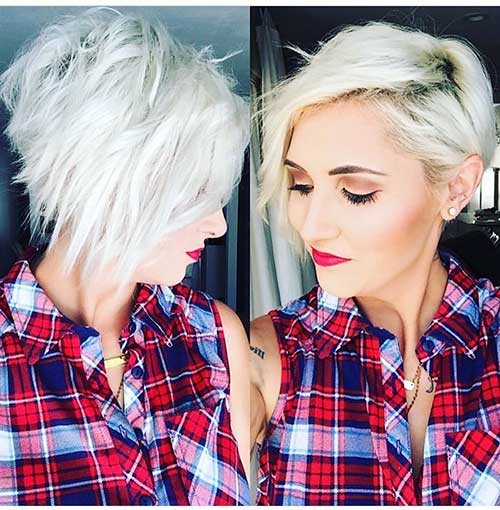 Short Asymmetrical Haircuts 2018 - 13