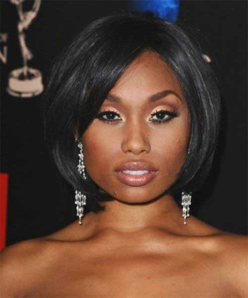 Short Casual Bob Idea for Black Women