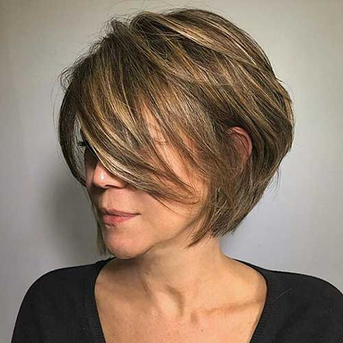 Short Layered Hairstyles 2018 - 8