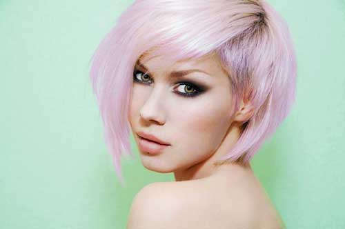 Cute Short Pastel Hair
