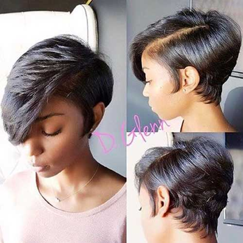 Short Hairstyles for Black Women-14