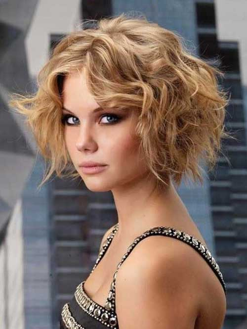 Short Curly Hairstyles 2018-8