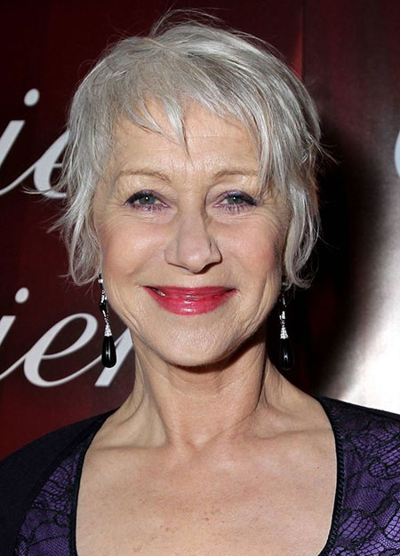 20 Short Hairstyles for Older Women_5
