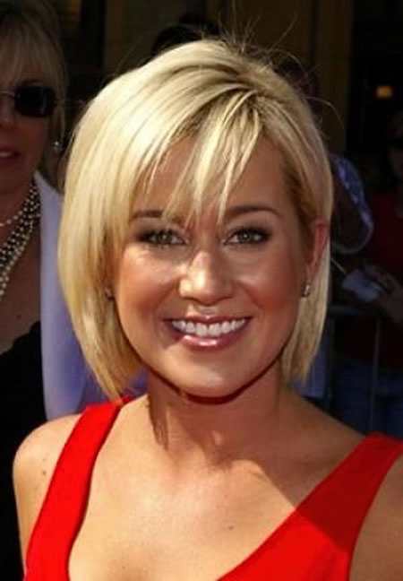 Best Short Hairstyles for Round Faces_7