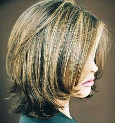 Short Hair Colour