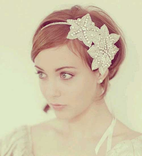 Best Short Wedding Hairdo
