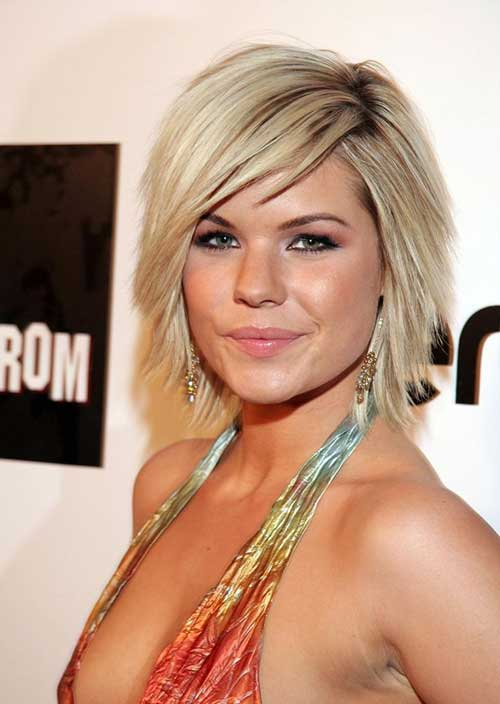 Best Bob Cut Hairstyle for Round Face