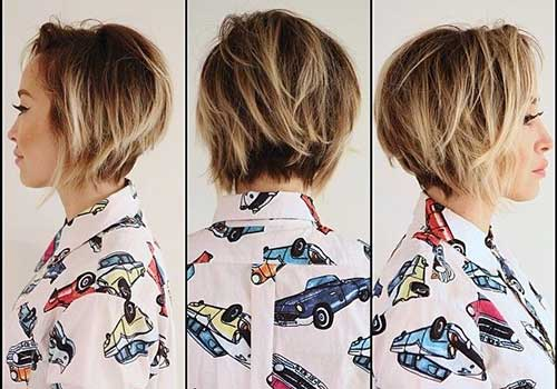 Chic Graduated Blonde Bob Ideas