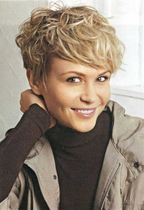 Cute Hairstyle for Short Hair-15