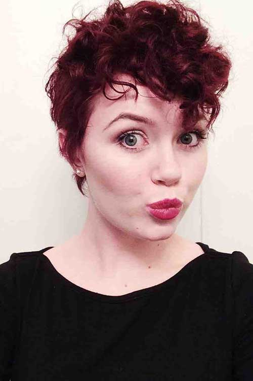 Pixie Cuts for Curly Hair-8
