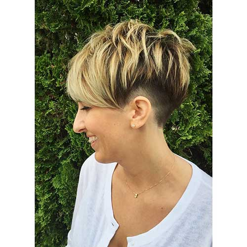 Super Short Layered Hairstyles - 20