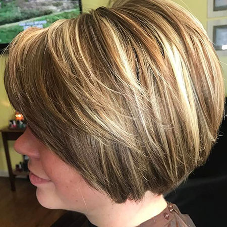 Bob Layered Blonde Bronde