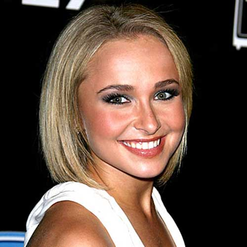Hayden Panettiere Straight Bob Haircuts