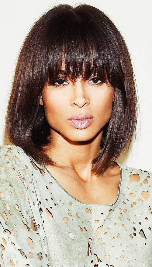 Bob Hairstyle with Bangs-34