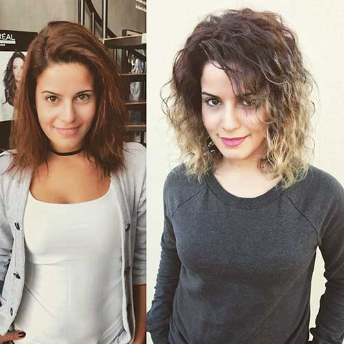 Super Short Haircuts for Curly Hair - 6