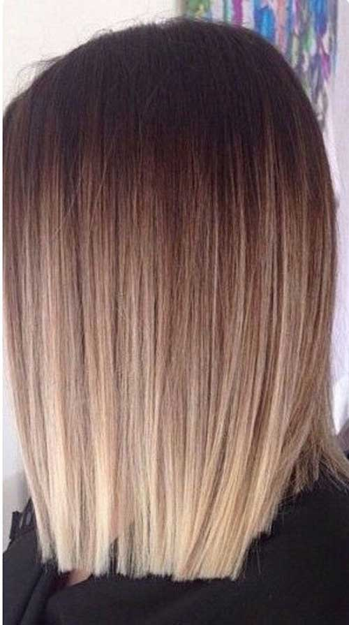 Ombre Hair Color For Short Hair-12