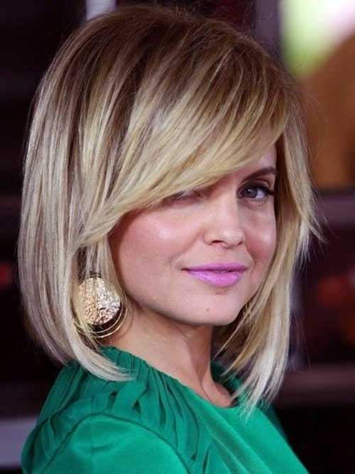Bob Haircuts for Round Faces-21