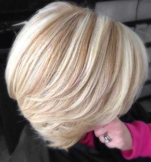 Highlighted and Lowlight Bob Hairstyles