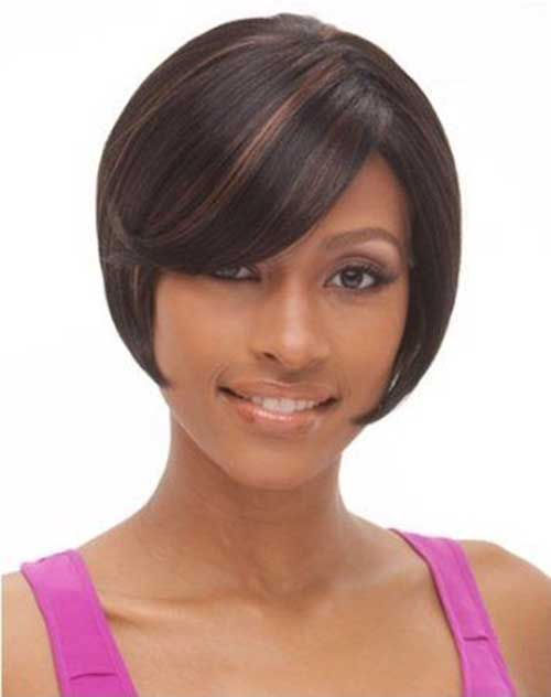 Simple Short Bob Hairstyles for Black Women