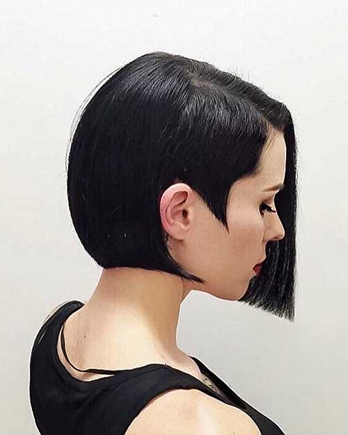 Short Straight Hairstyles 2018 - 19