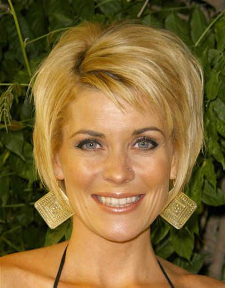 Golden Blonde Bob Hairstyle