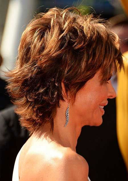 Short Layered Haircut, Curly Short Layered Thick