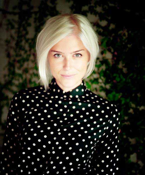 Best Short Blonde Bob for Girls