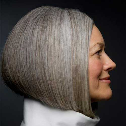 Bob Haircuts for Older Women-16