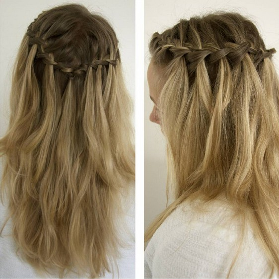 Cute, Everyday Hairstyle for Women Long Hair