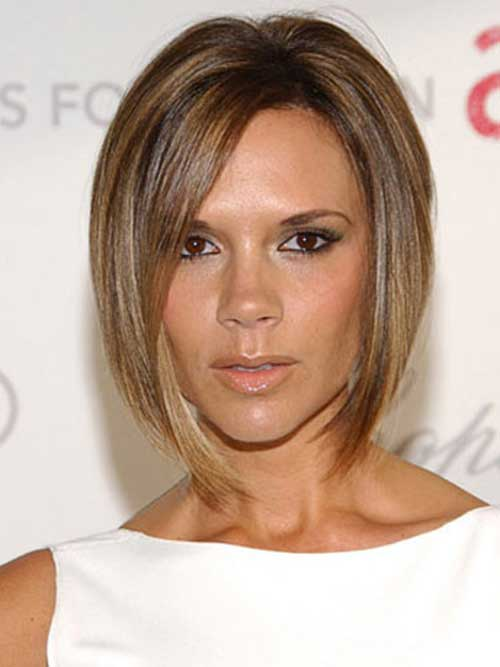 Short Brown Bob Cut Hairstyle Pictures