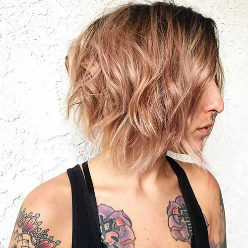 Short Choppy Hairstyles 2018