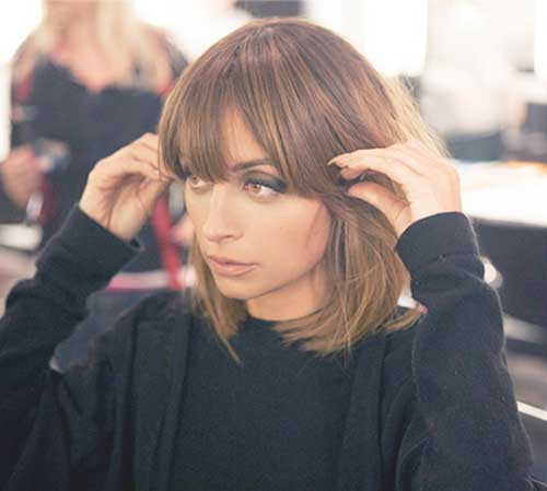 Trendy Brown Bob Hair