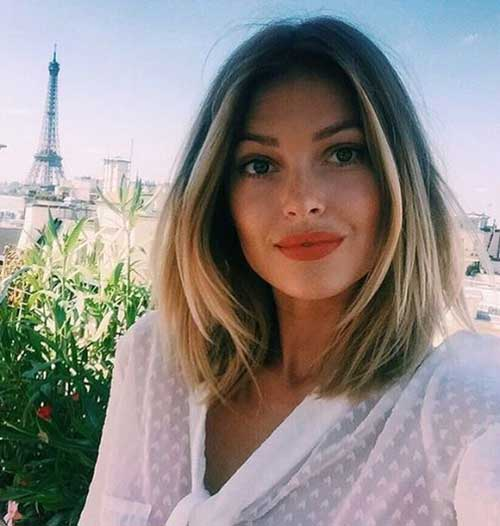 Short Hairstyles for Round Face-10