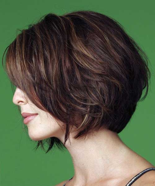 Ladies Wavy Bob Hairstyles