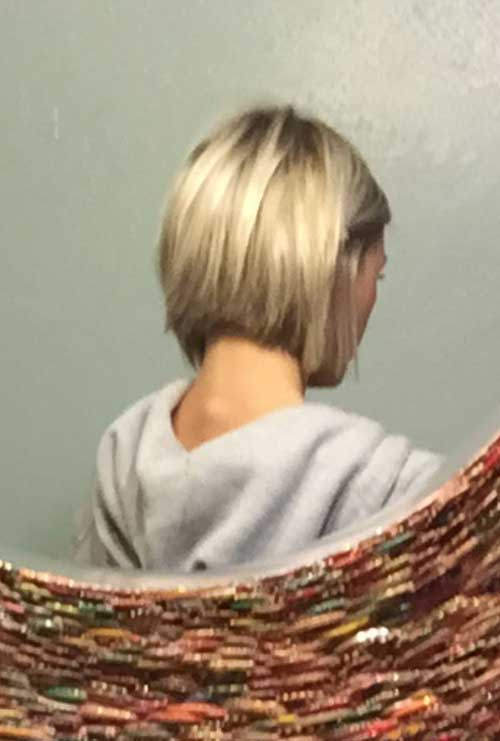 Short Blonde Hair-10