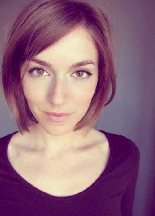 Straight Hairstyles for Bob Cuts
