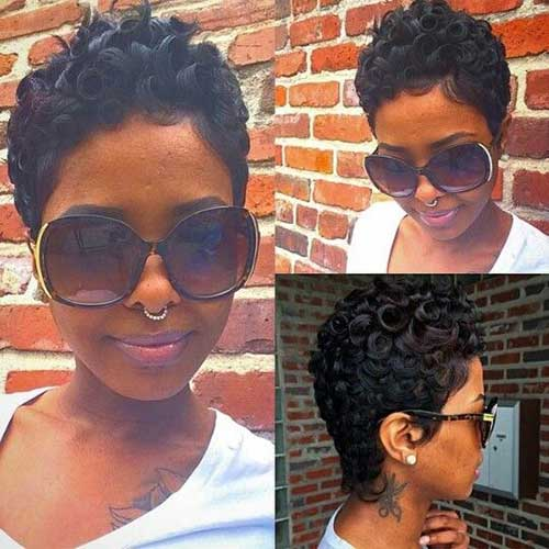 Short Hairstyles For Black Women 2018-18