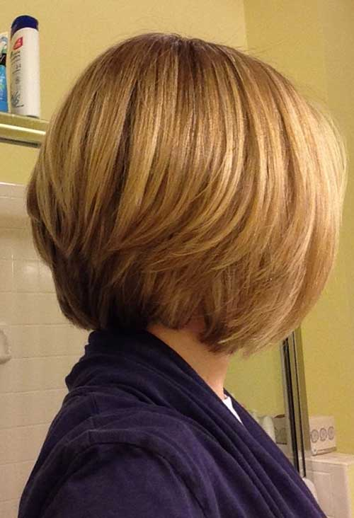 Graduated Bob Back View