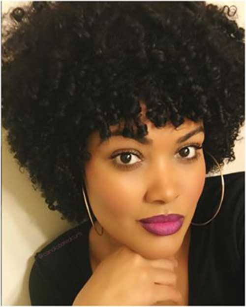 Short Natural Hairstyles for Black Women-8