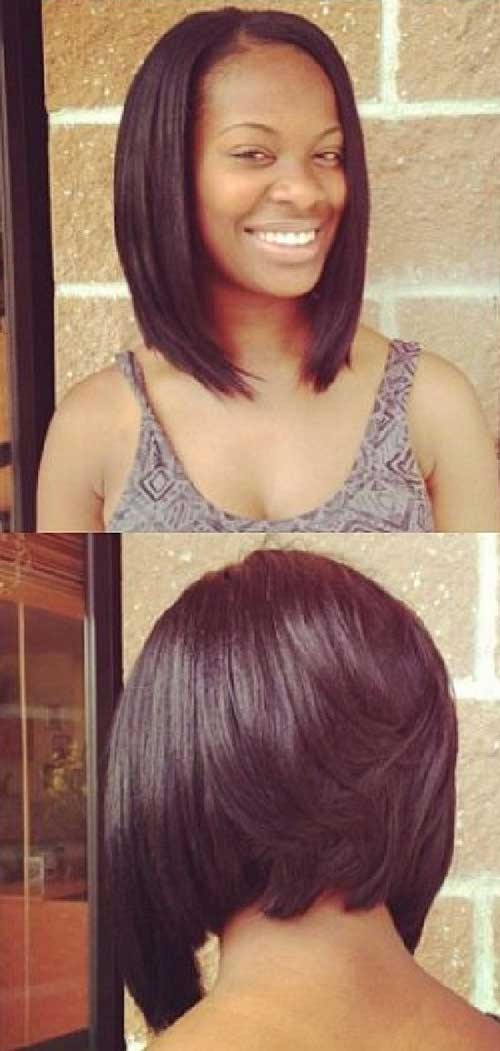 Back View of Bob Hairstyles-17